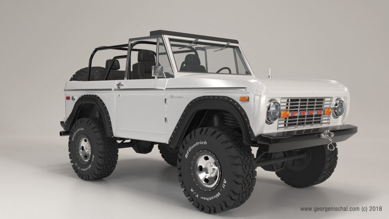 Vintage Ford Bronco Xtreme