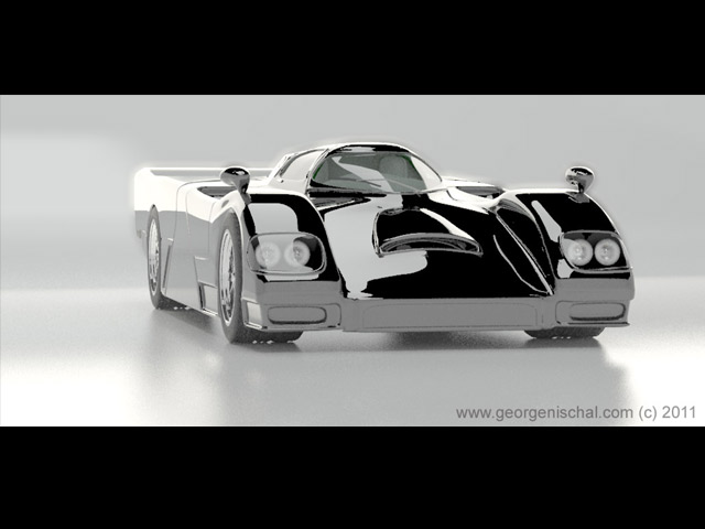 Dauer 962 car visulaisation