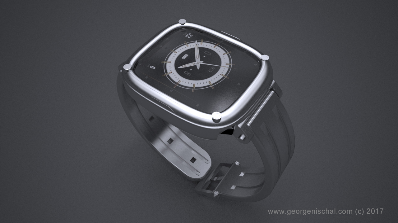 Smart Watch Product Visulaisation